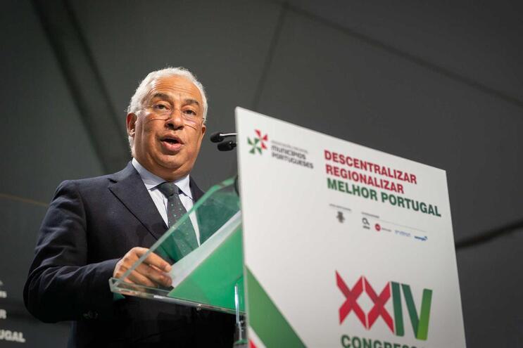 António Costa no XXIV Congresso Nacional da Associação Nacional de Municípios