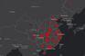 O mapa que mostra o avanço do coronavírus em todo o Mundo