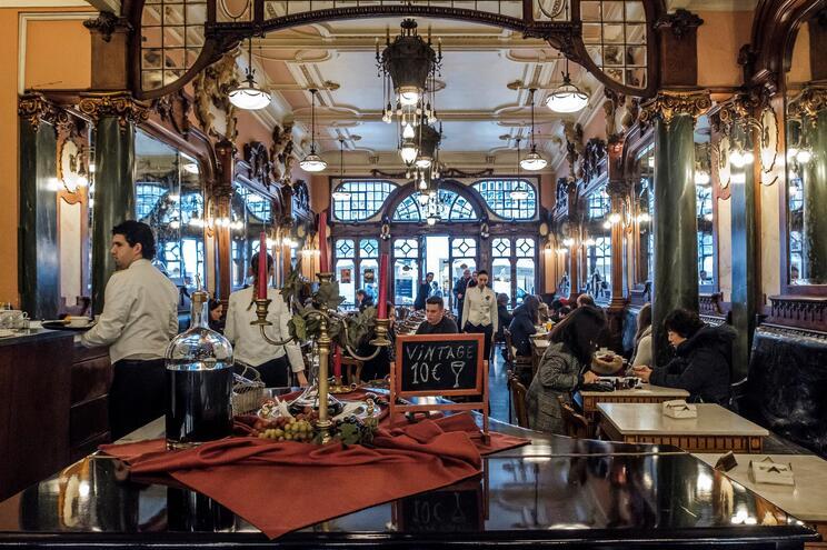 Café Majestic, no Porto