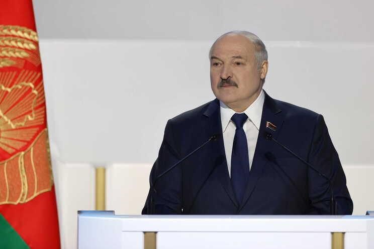 O presidente da Bielorrússia, Alexander Lukashenko