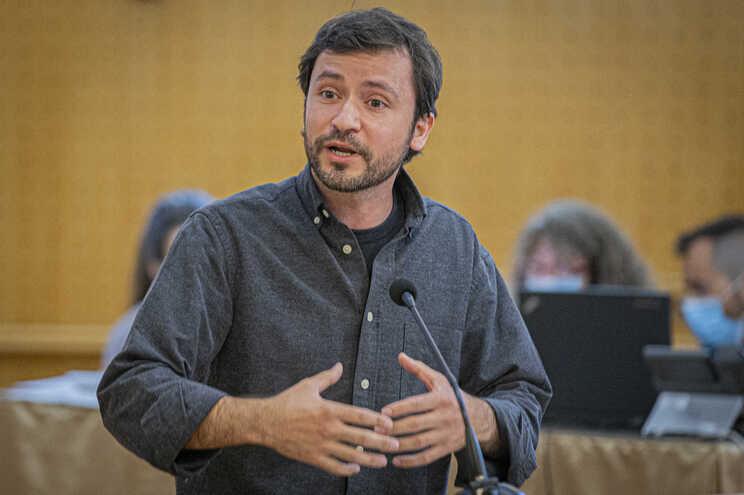 Deputado do Bloco de Esquerda, José Soeiro