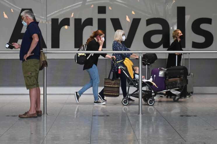 As restrições de viagem vigoravam desde março de 2020