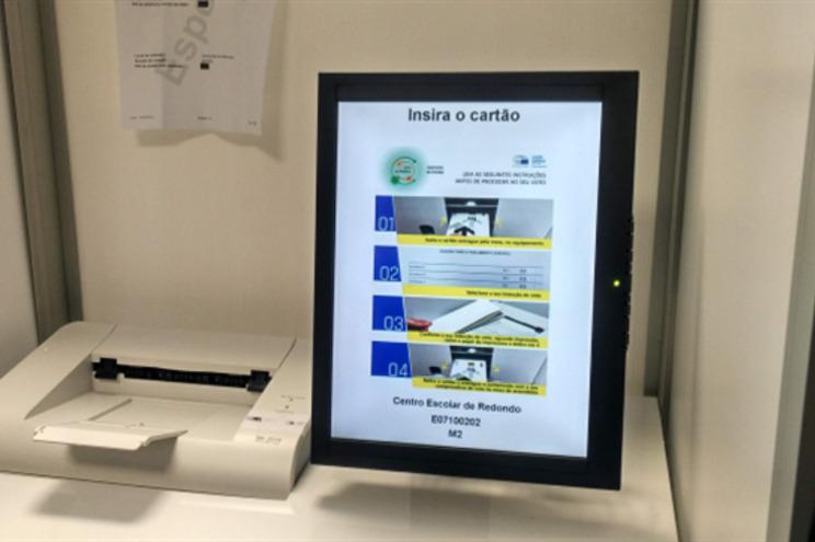 Voto eletrónico já foi testado em Portugal
