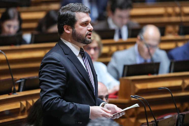 O deputado socialista João Paulo Correia