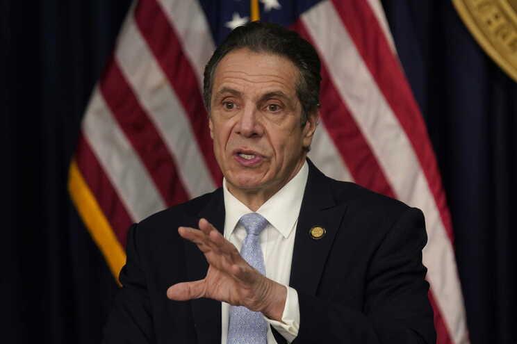 Governador do Estado de Nova Iorque, o democrata Andrew Cuomo
