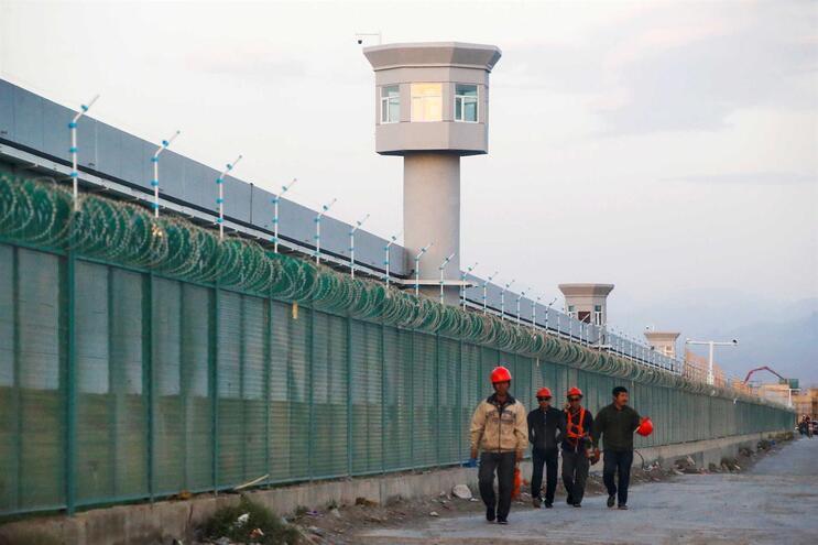 Centro de educação em Xinjiang, um dos mais conhecidos na região, e que está em expansão