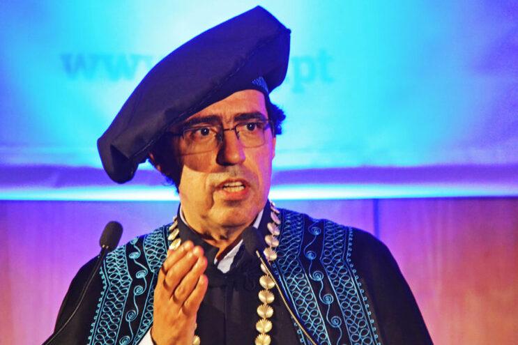 Paulo Águas, reitor da Universidade do Algarve