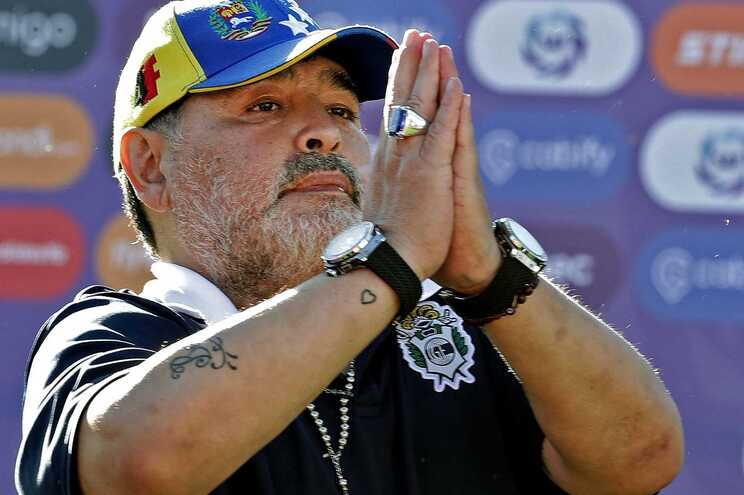 Maradona morreu a 25 de novembro de 2020