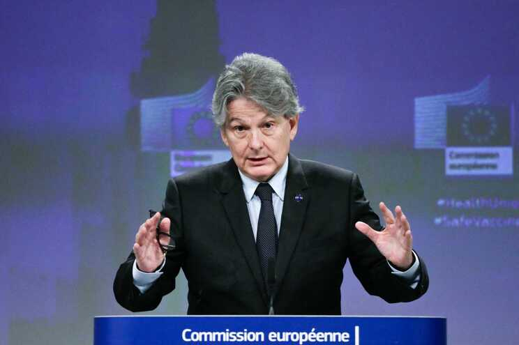 O comissário do Mercado Interno, Thierry Breton