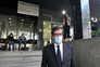 Rui Moreira à saída do Tribunal de Instrução Criminal do Porto