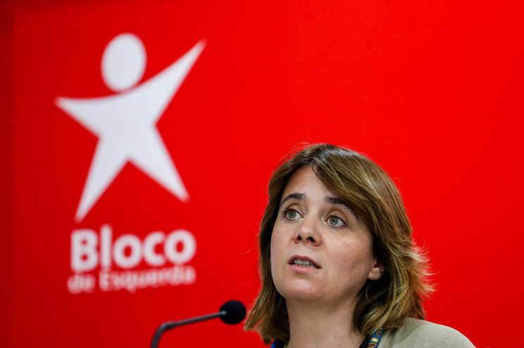 Catarina Martins responsabiliza PS e apoio do PSD por injeção no Novo Banco