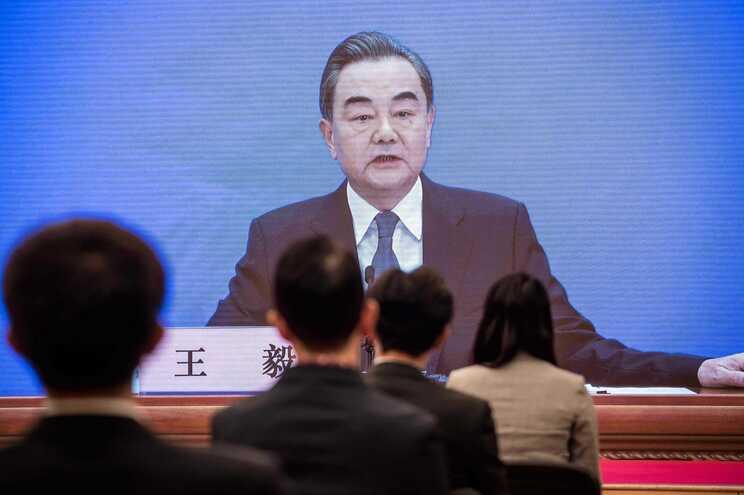 O ministro das Relações Exteriores da China, Wang Yi