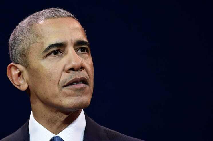 """O antigo presidente dos Estados Unidos Barack Obama enviou os """"melhores votos"""" de recuperação ao seu"""