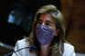A ministra do Trabalho, Solidariedade e Segurança Social, Ana Mendes Godinho, participa na audição conjunta