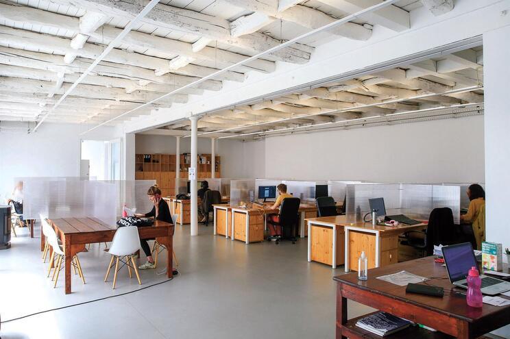 Typographia,  espaço de coworking, abriu portas há seis anos em pleno centro do Porto