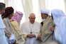 Papa Francisco em Ur num encontro com líderes religiosos do Iraque