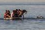 Polícia marroquina encerra a passagem de fronteira com Ceuta