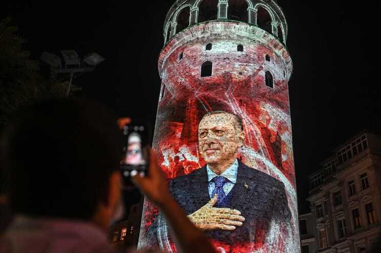 Na passada quinta-feira, o presidente Recep Tayyip Erdogan participou nas celebrações do quinto aniversário