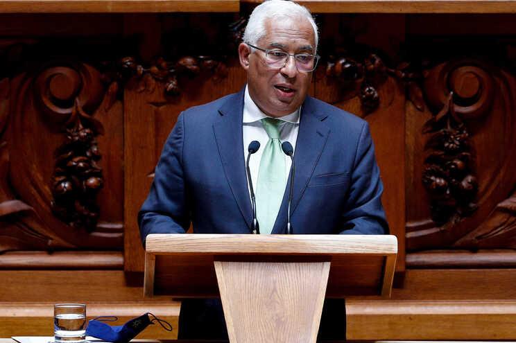 Primeiro-ministro no debate sobre o Estado da Nação