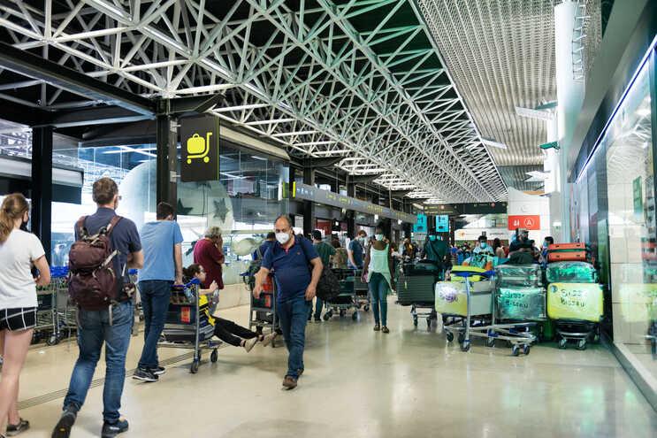Greve da GroundForce no aeroporto de Lisboa   (André Luís Alves / Global Imagens)