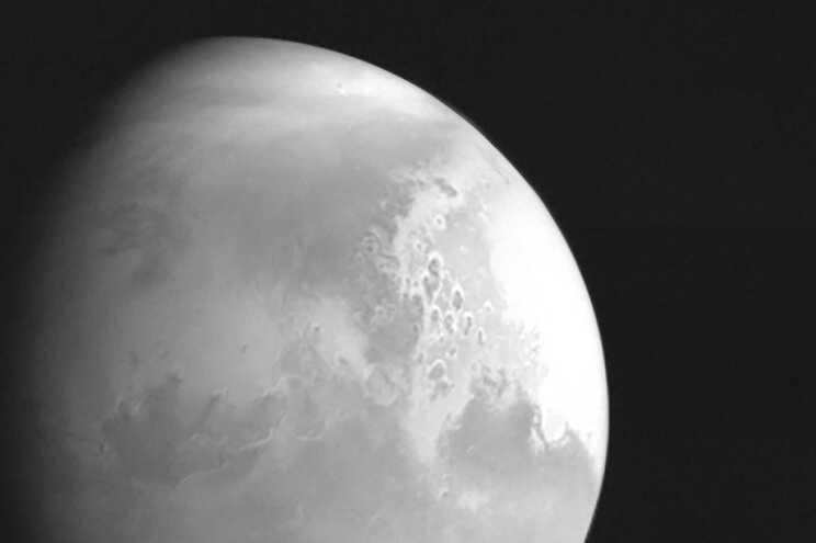 Foto de Marte tirada pela Tianwen-1