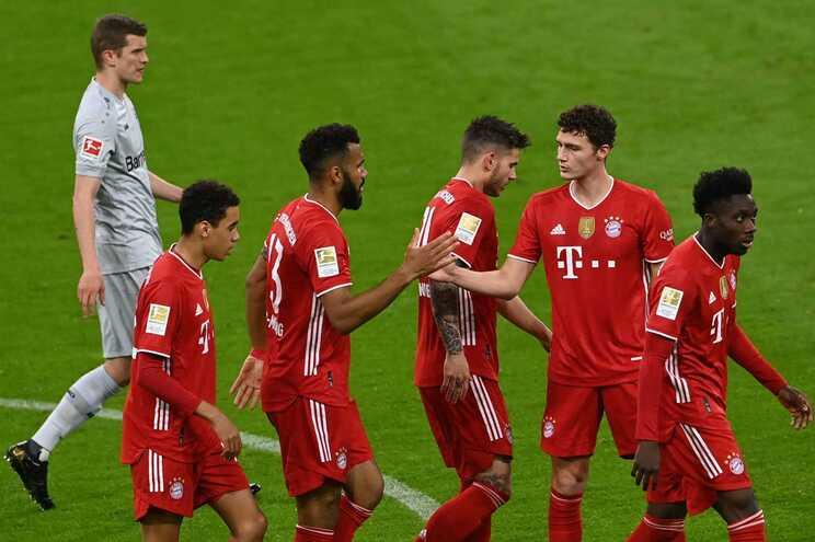 O Bayern venceu esta terça-feira