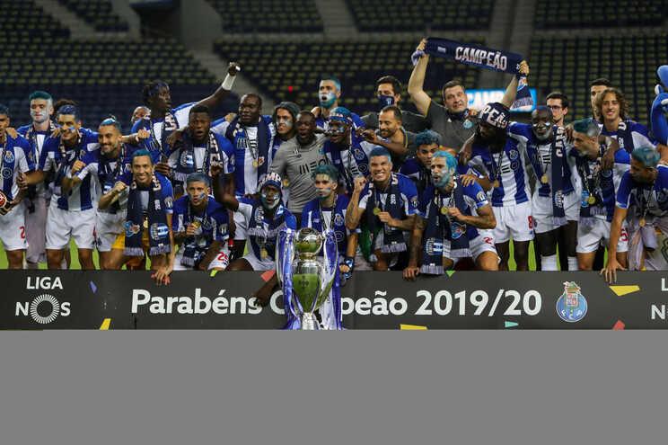 Título do F. C. Porto gerou mais de 62 milhões de interações nas redes sociais