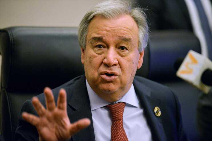 Alerta foi dato esta quinta-feira o secretário-geral da ONU, António Guterres
