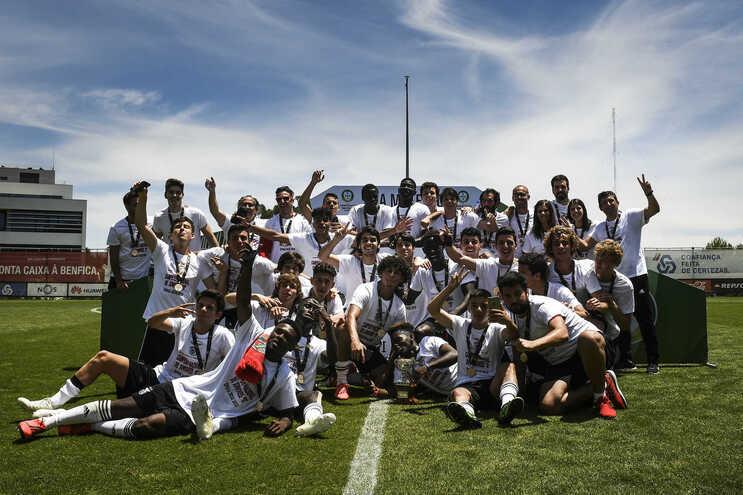 Benfica é o detentor do título nacional de sub-17