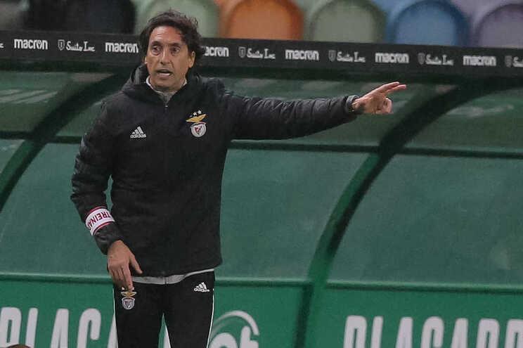 João de Deus, adjunto do Benfica