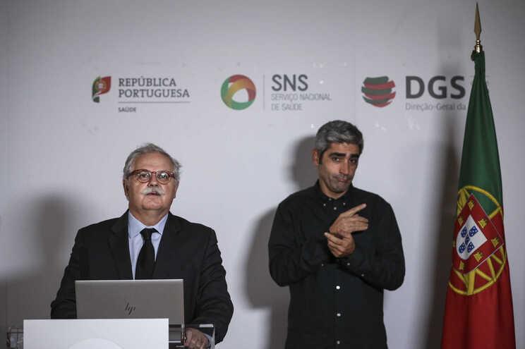O subdiretor-geral de Saúde, Rui Portugal
