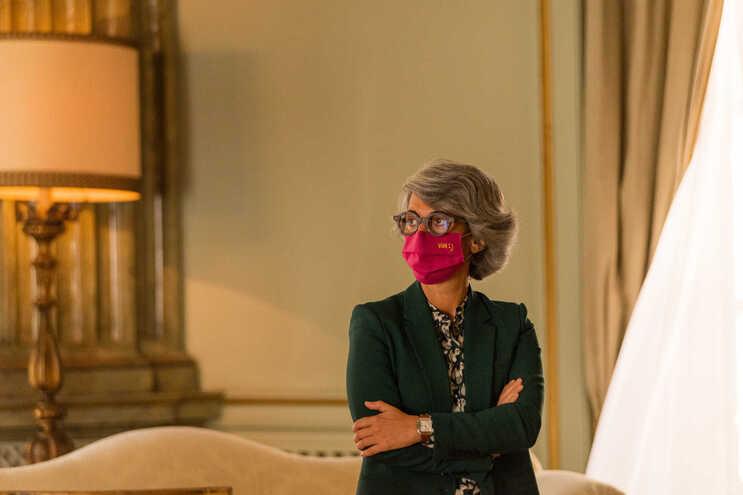 Imagem de arquivo da Ministra da Cultura Graça Fonseca