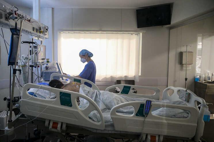 Número de doentes internados tem vindo a baixar