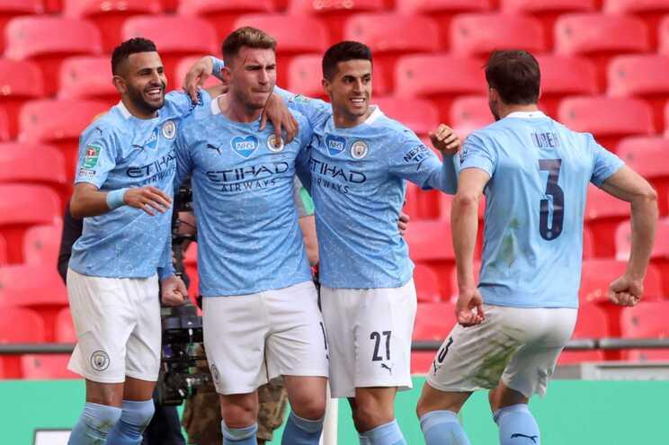 O Manchester City sagrou-se campeão