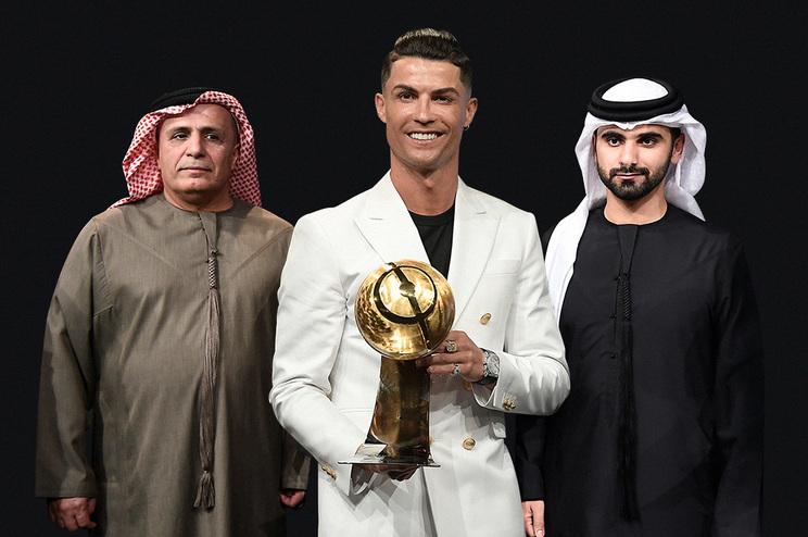Cristiano Ronaldo somou o sexto troféu em 2019