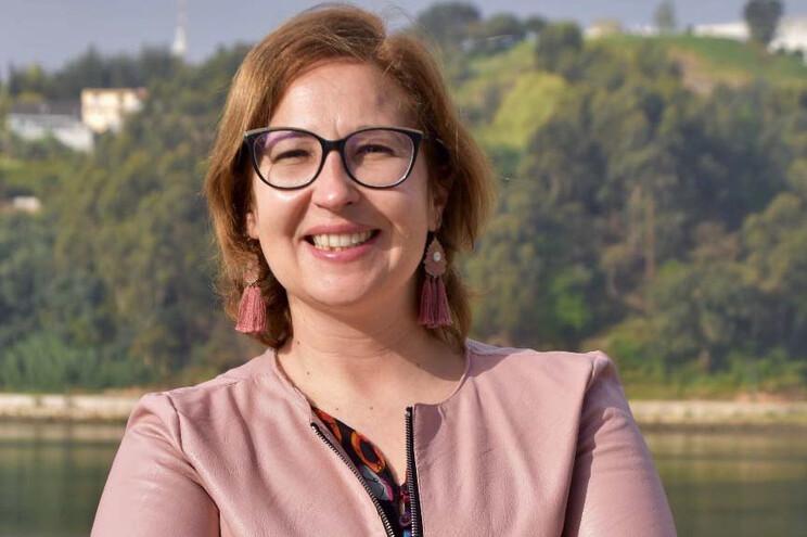 Cristina Coelho, 42 anos, é natural de Valbom, onde também mora
