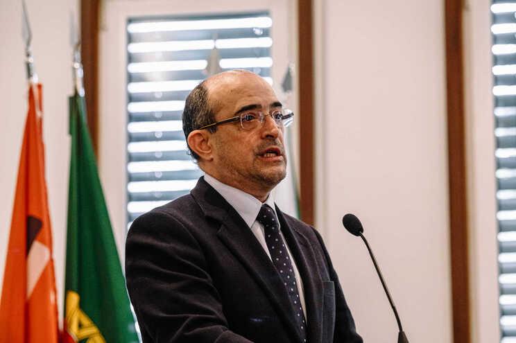 O secretário de Estado da Ciência, Tecnologia e Ensino Superior, João Sobrinho Teixeira