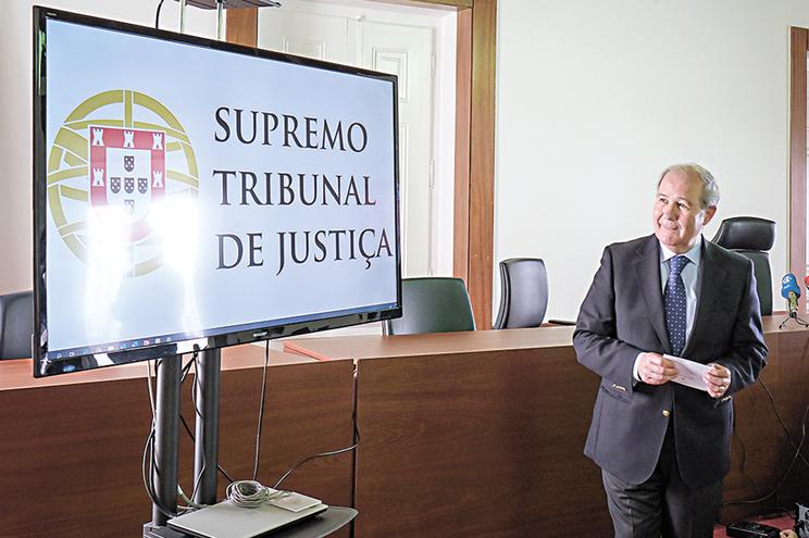 O presidente do Supremo Tribunal de Justiça (STJ), António Piçarra