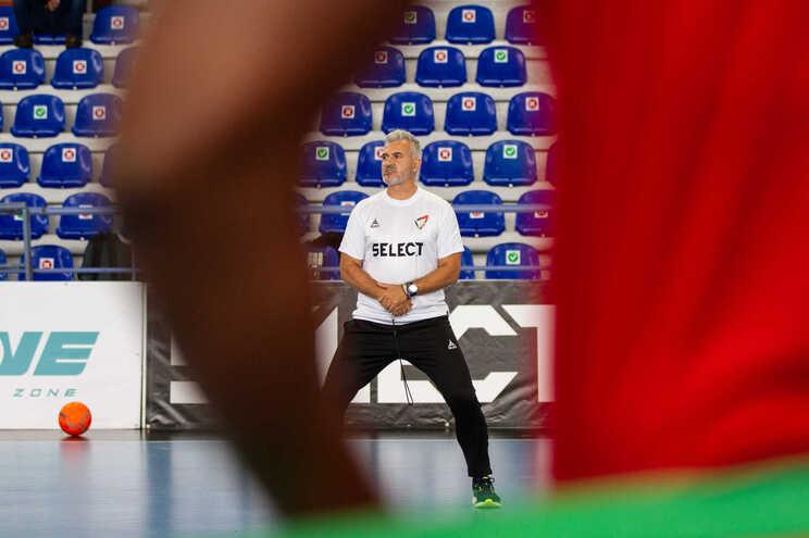 O selecionador Paulo Jorge Pereira.