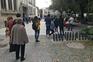 Em Viseu, havia mais filas para comprar bolos do que para votar