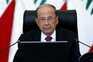 O presidente do Líbano, Michel Aoun