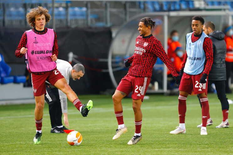 David Luiz jogou quatro épocas no Benfica
