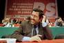 Jorge Coelho em congresso do Partido Socialista (PS) nos finais dos anos 90