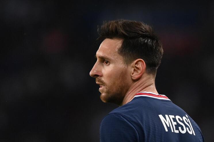 Messi não está a ter o arranque esperado no PSG