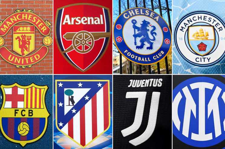 Clubes fundadores da Superliga Europeia