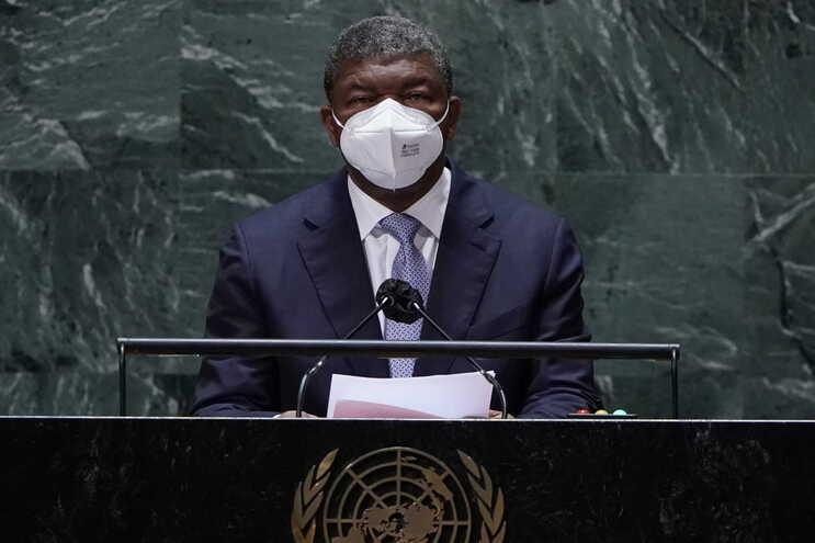 João Lourenço discursou na 76.ª assembleia-geral da ONU