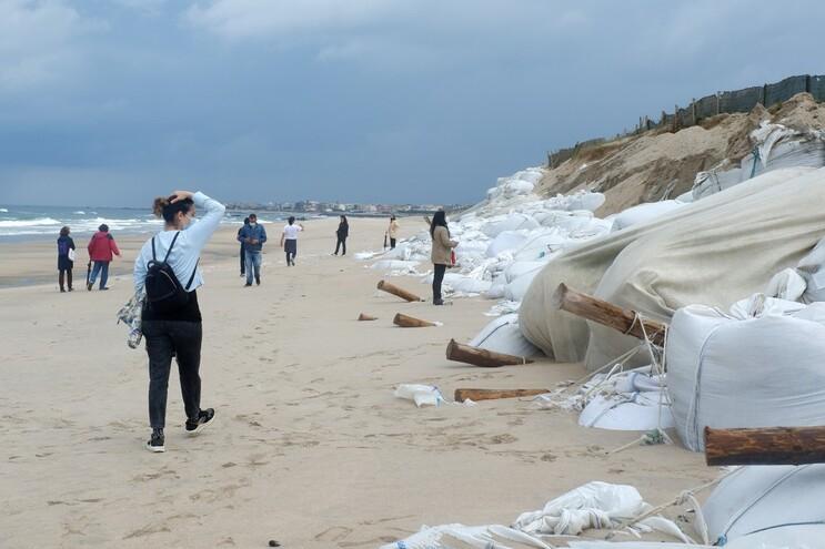 Resíduos dos sacos foram encontrados nas hélices dos barcos
