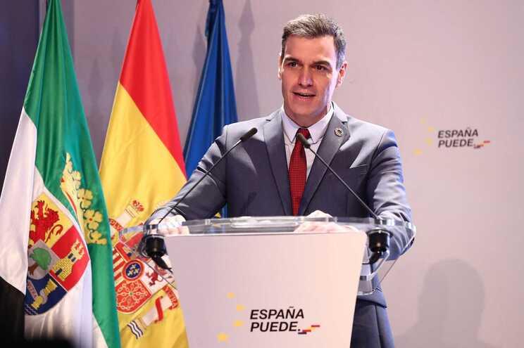 O chefe do governo de Espanha, Pedro Sánchez