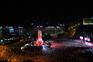 A festa benfiquista no Marquês de Pombal em vídeo