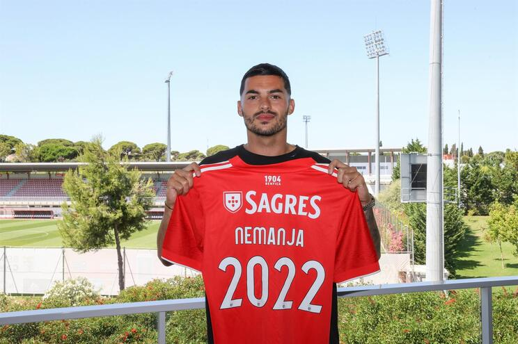 Radonjic foi emprestado pelo Marselha ao Benfica